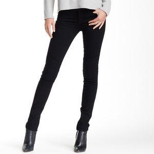 NEW Vince 5 Pocket Moto Jean Black Straight Leg
